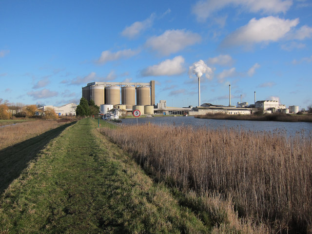 Cantley sugar beet refinery