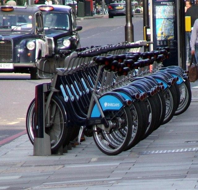 Barclays Bike Docking Station