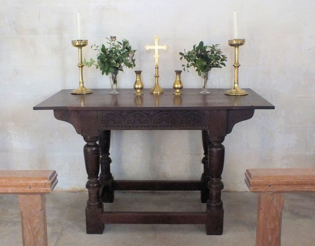 St Martin's Church- the altar