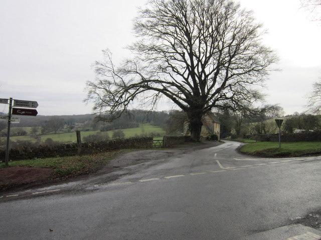 Buckle Street and Campden Lane crossroads