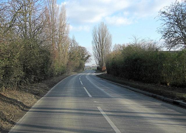 B4016 northeast of Sutton Courtenay