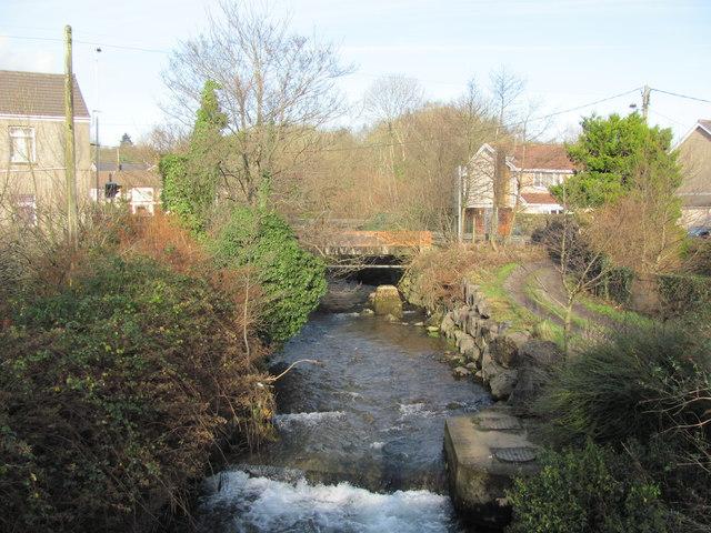 Afon Garw at Brynmenyn