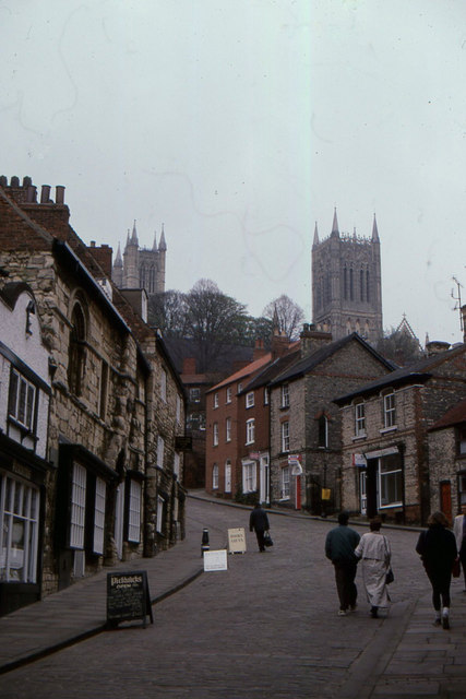 Lincoln: Steep Hill and Cathedral