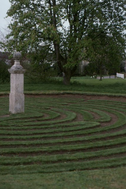 Hilton turf maze