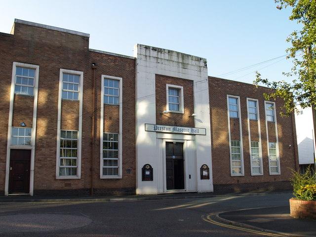 Masonic Hall, Preston formerly Saul Street Primitive Methodist
