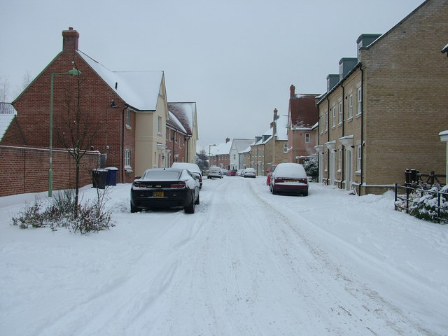 Fen Way in the snow