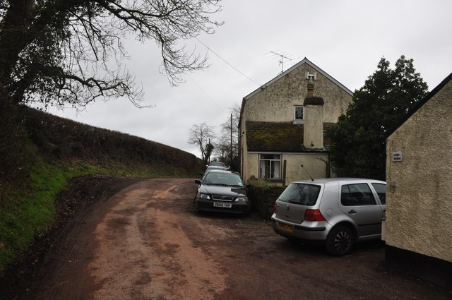 Kytton Barton : House & Road
