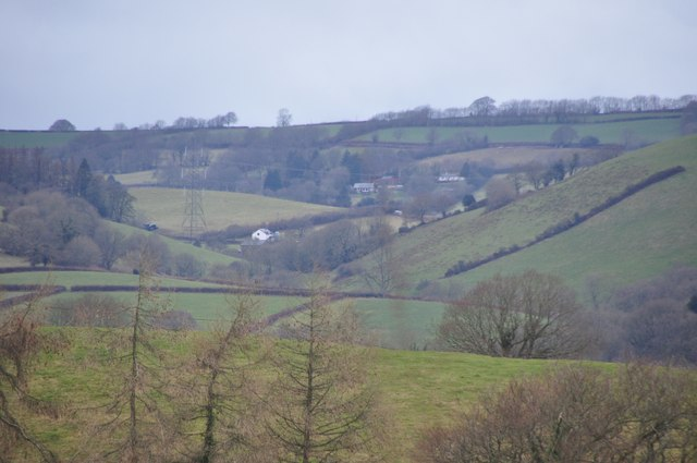 Mid Devon : Somerset Scenery