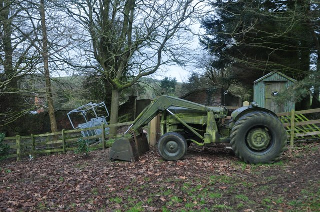 Taunton Deane : Old Rectory Farm - Old Tractor
