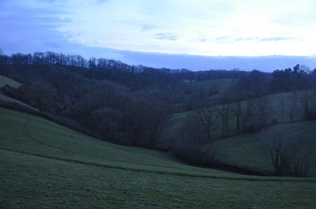 Mid Devon : Grassy Fields & Hillsides