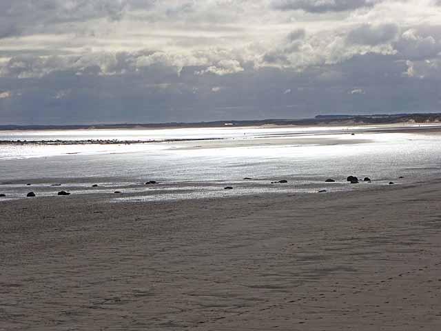 The beach at Druridge Bay