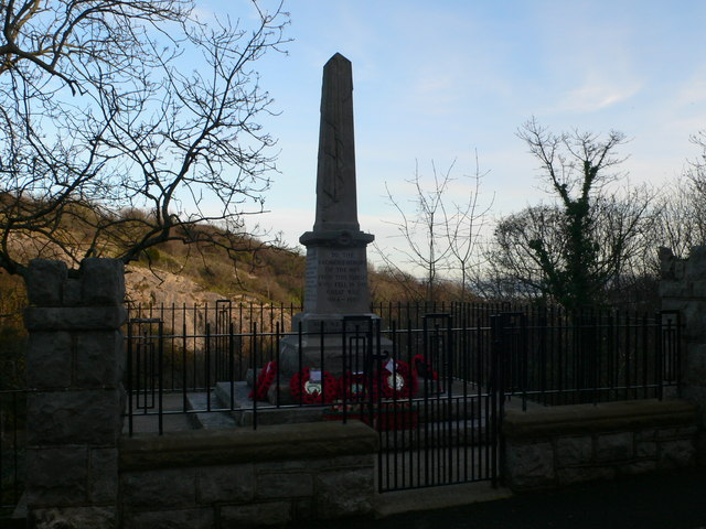 War Memorial, Penrhyn Side