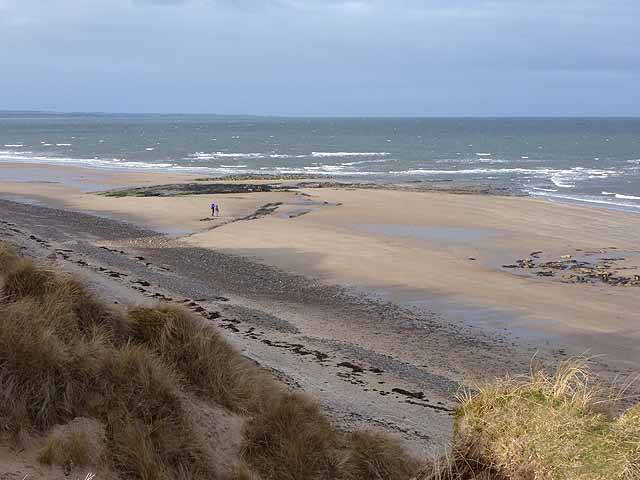 The beach at Hauxley