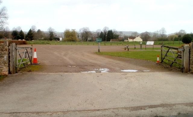 Caerwent Visitor Centre parking area