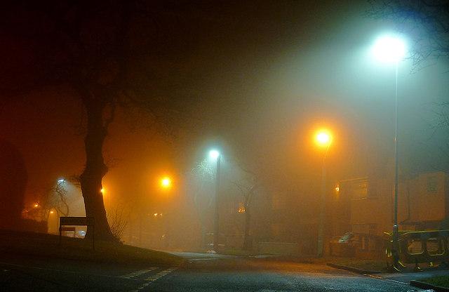 Dual lighting in Penn, Wolverhampton