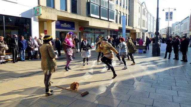 Morris dancing in Cheltenham 7