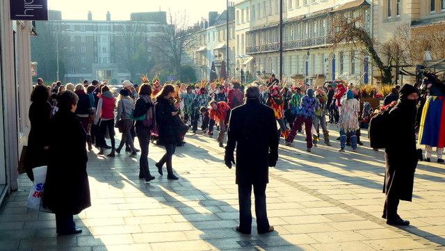 Morris dancing in Cheltenham 11