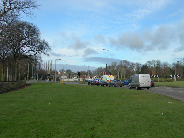 A49 Roundabout on Winwick Road