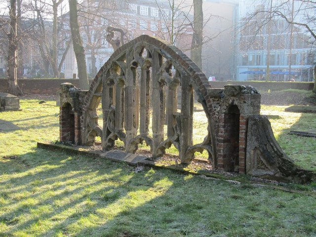 Tracery in the Churchyard