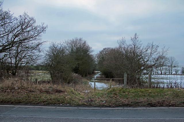 Footpath to Hardwick