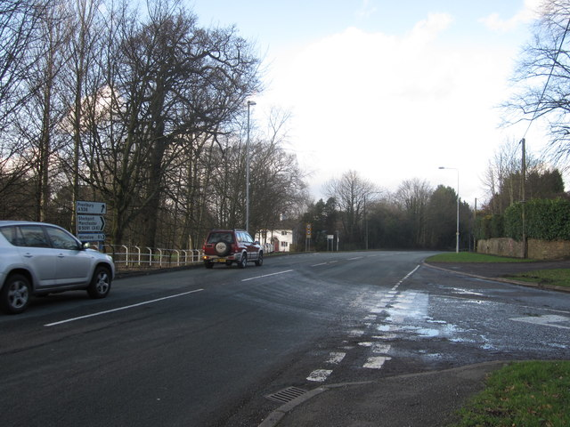 Dumbah Lane/Heybridge Lane/Manchester Road junction
