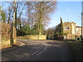 SJ9376 : Gatehouse to Endon Hall, Bollington by Peter Turner