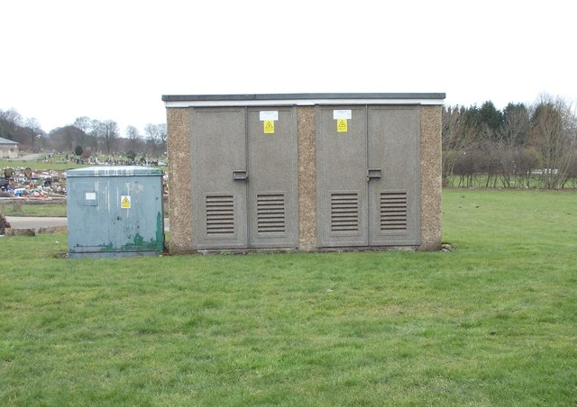 Electricity Substation No 893 - Cemetery Road