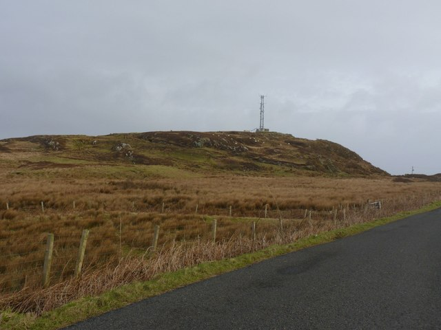 Cnoc Mor mast, Portnahaven, Islay