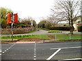 ST4690 : New pedestrian crossing, Caerwent by John Grayson