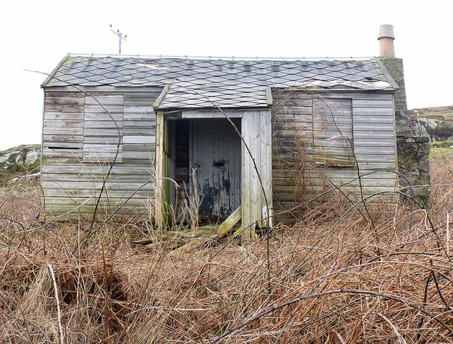 Boarded up and Derelict, near Portnahaven, Islay