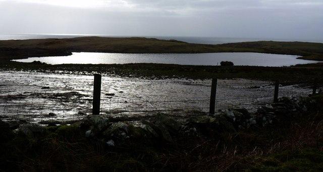 Lochan by Easter Ellister, Islay