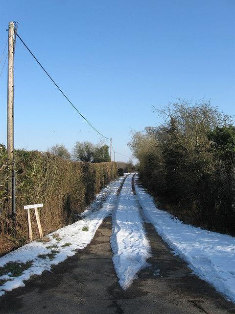 Drive to Burchetts Farm