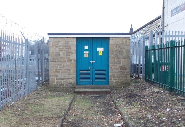 Electricity Substation No 708 - Spencer Road