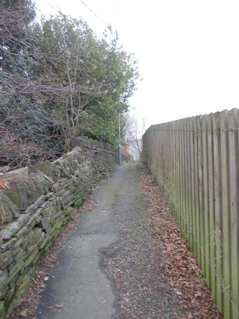 Footpath - Spencer Road