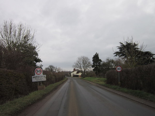 Ilmington Road, Armscote