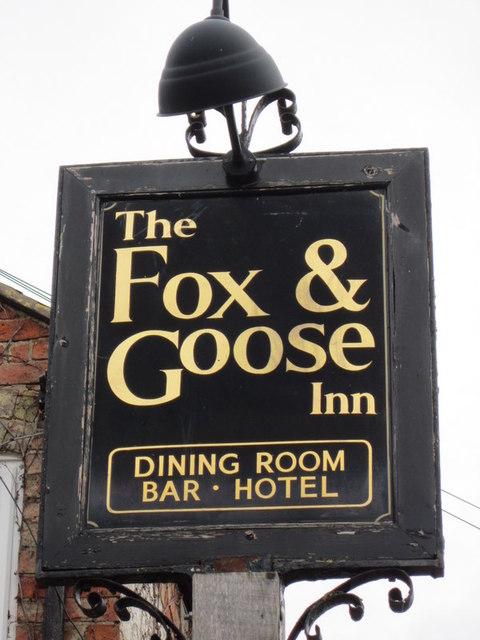 The Fox & Goose, Armscote