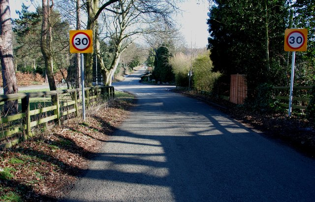 Road Junction on Hollyhill Lane, Shenstone