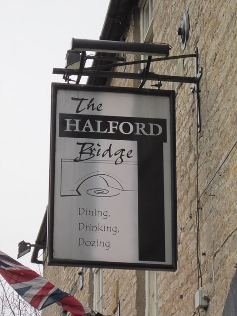 The Halford Bridge public house, Halford