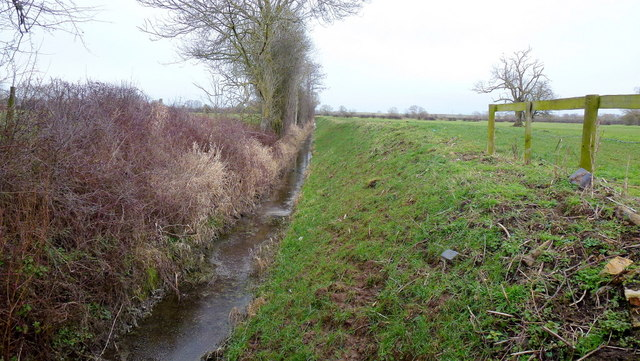 Drain on Minsterworth Ham