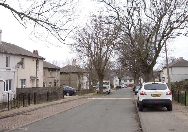 Brooksbank Avenue - viewed from Ashton Avenue