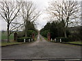 SP2748 : The entrance to Brick Kiln Stud Farm by Ian S