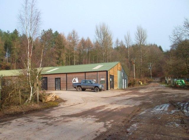 Forestry Sheds near Parkend