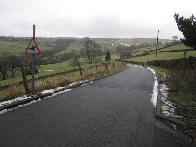 Berristall Road, Rainow