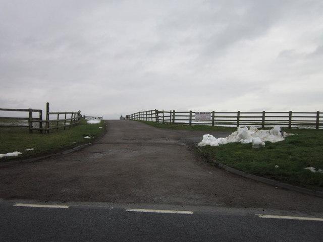 The entrance to Glebe Farm