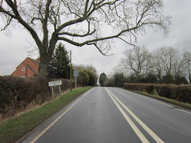 Fosse Way at Hunningham Hill