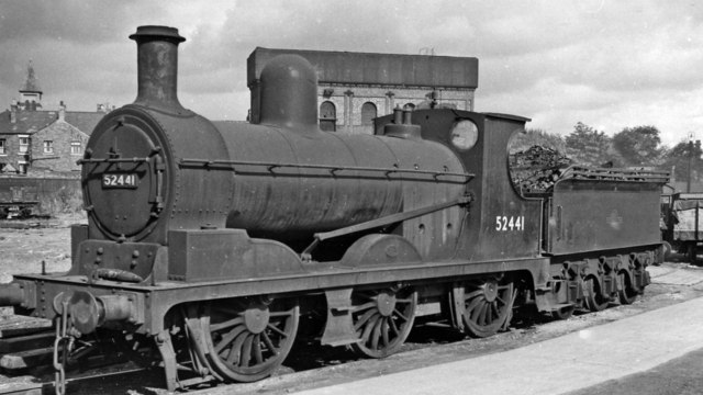 Ex-L&Y 0-6-0 as a Crewe Works Pilot
