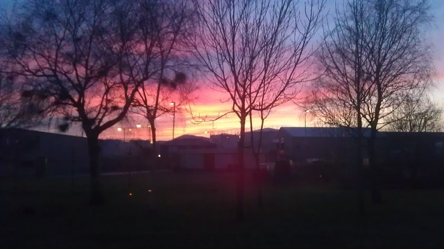 Sunset from Capgemini