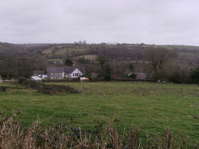 The old school house and school Glandwr