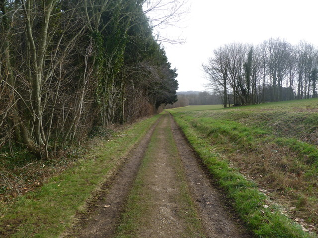 Moor Crichel, footpath
