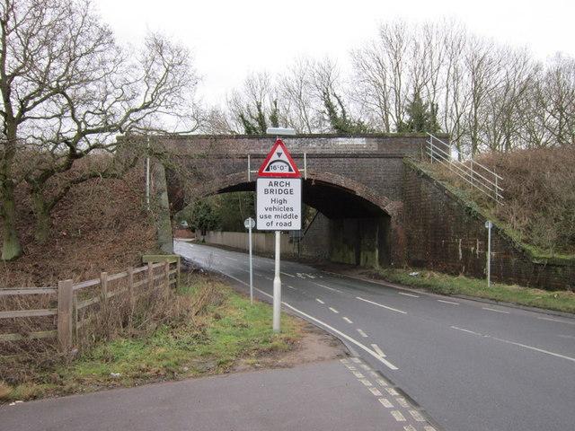 The former rail bridge at Cawston